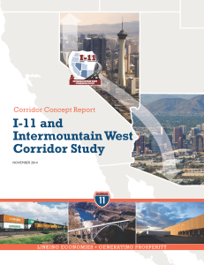 I-11 and Intermountain West Corridor Study